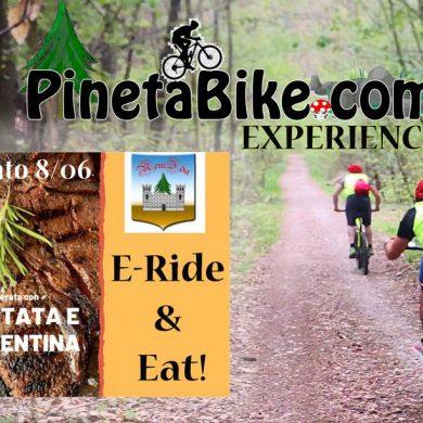 Pineta Bike, percorsi nel parco pineta mangiare ristori e gastronomia