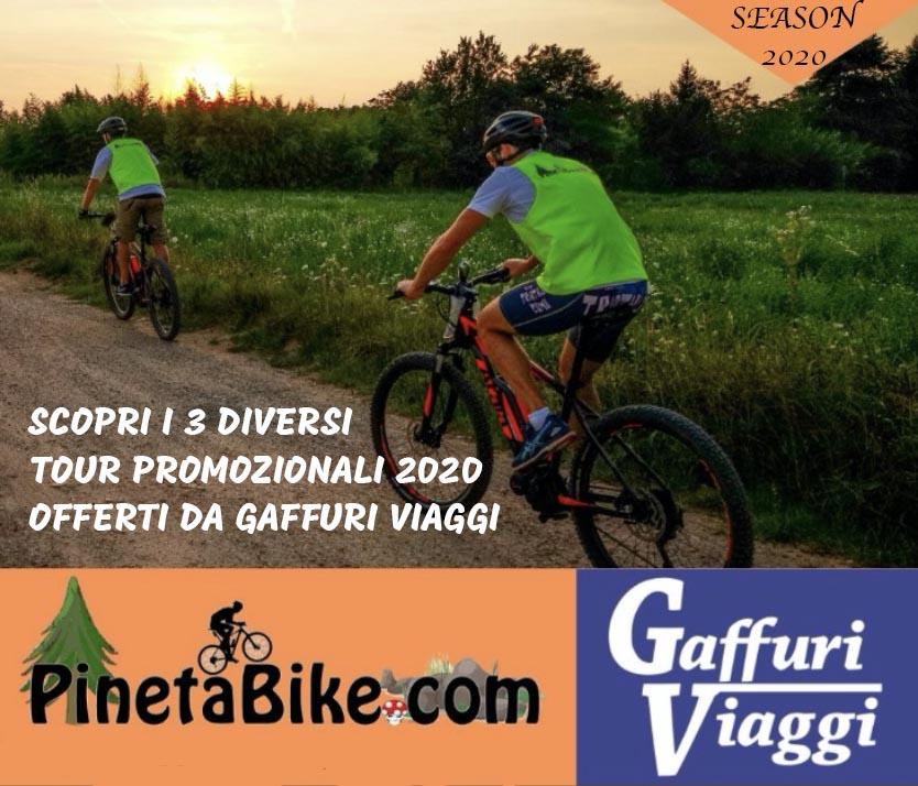 Immagine EVIDENZA pacchetti tour Pineta Bike GaffurI Viaggi